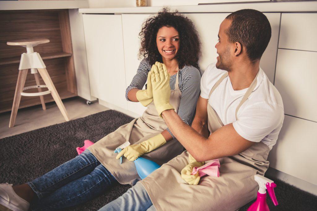 Att städa sitt eget hem